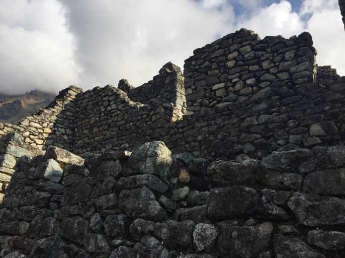Some of the ruins along the Inca Trail to Machu Picchu