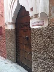 Behind this unassuming door is an oasis.